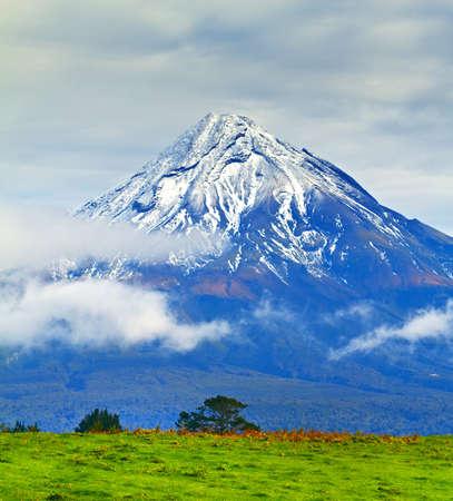 A photo a huge Volcano - New Zealand Stock Photo - 10253252