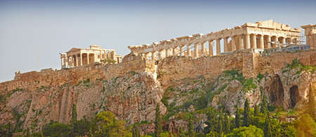 a photo of Parthenon, Athens Acropolis  photo