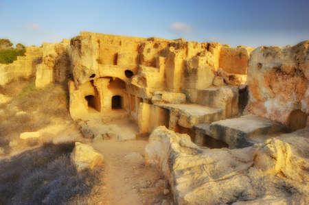tumbas: Una foto de las Tumbas de los Reyes (Paphos) Cypres