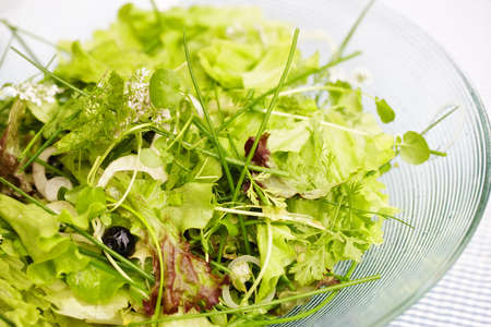 a photo of Healthy green salat