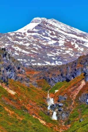 free climbing: a photo of Volcano and landscape - New Zealand