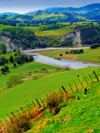 Landscape photo from New Zealand - nature and river