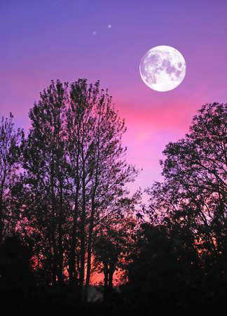 Ein Foto der Mond, Natur und Landschaft