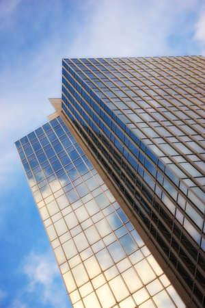 disappeared: A photo of a beautiful skyscraper Stock Photo