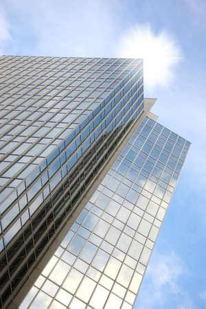 A photo of a beautiful skyscraper photo