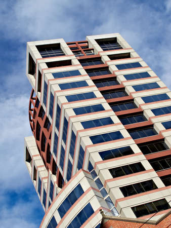 sunshine state: A photo of a Skyscraper - architectural details Stock Photo