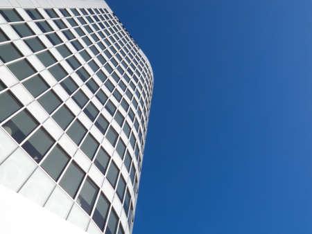 Ein Foto von einem Wolkenkratzer - architektonische Details