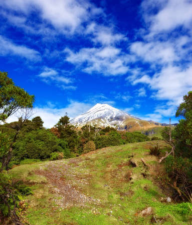 A photo of volcano in New Zealand Stock Photo - 11693610