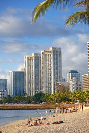 honolulu: A photo of Waikiki - Beach of Honolulu, Hawaii