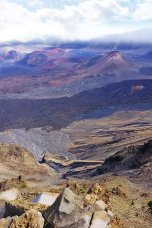 A photo  of the Haleakala volcano, Hawaii Stock Photo - 12308257