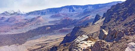 A photo  of the Haleakala volcano, Hawaii Stock Photo - 12308267