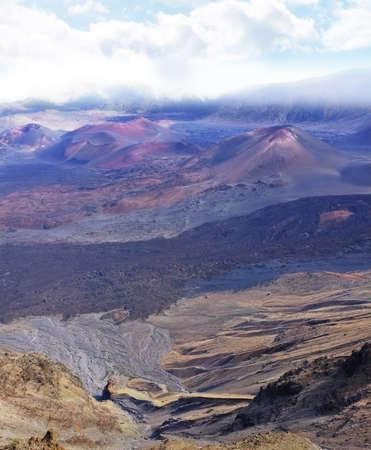 A photo of  Haleakala volcano in Maui from summit Stock Photo - 12308240