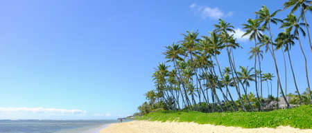 An icon photo of tropical beach (Kahala, Oahu, Honolulu) photo