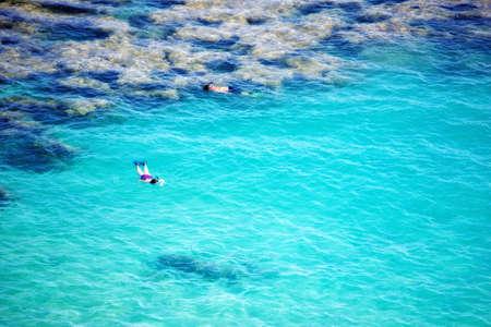 Icon photo of tropical dreams - a blue lagoon. Stock Photo - 12564781