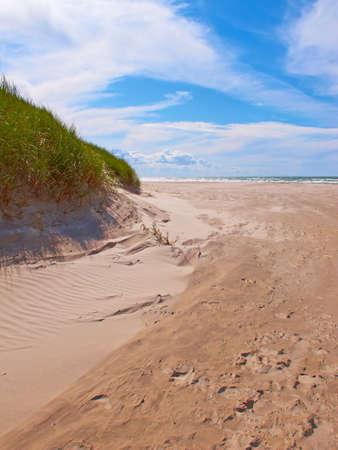 jutland: A photo of white beach of Jutland, Denmark