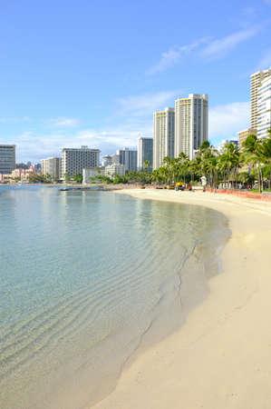honolulu: A photo of Waikiki - Tropical Hawaii
