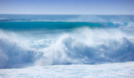 A photo of  big waves - Oahu, Hawaii