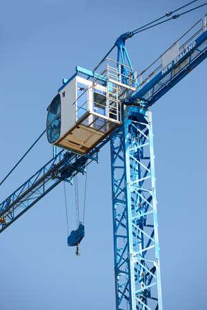 A photo of a huge crane photo