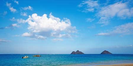 A photo of tropical beach, Oahu, Hawaii Stock Photo - 13126718