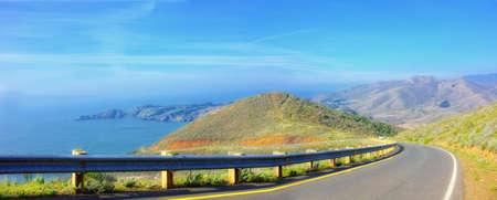 A photo of nature close to The Golden Gate  Standard-Bild