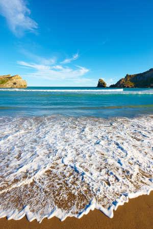 A photo of the Coastline of New Zealand - Wellington area photo