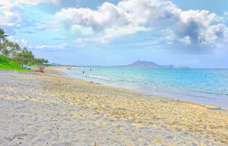 A photo of  beach of  Paradise - Lanikai Beach, Oahu, Hawaii photo