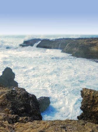 A photo of Hawaiian coast landscape - West Oahu photo