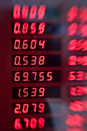 exchange rate: A lens blurred image of exchange rates