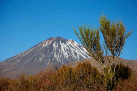 A photo of a Highland volcano - New Zealand photo