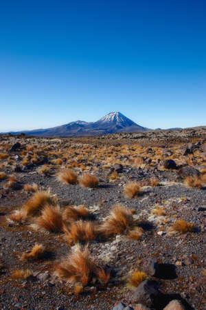 A photo of a Highland volcano - New Zealand photo