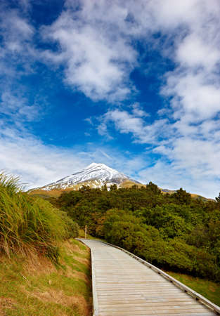 A photo of volcano road - New Zealand photo