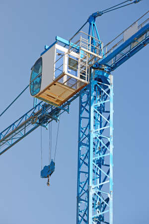 A photo of an Industrial crane photo