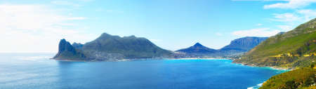 hout bay view from chapmans peak, Cape Town area, south africa