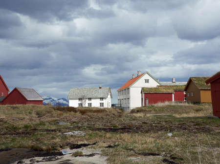A photo of a old houses in Norway Stock Photo - 17293564