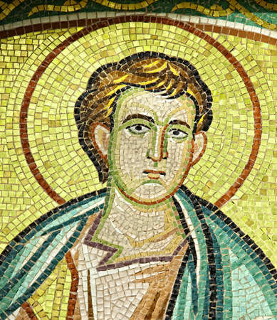 testaments: A photo of a Christian saint