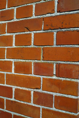 A photo of a red brick wall photo
