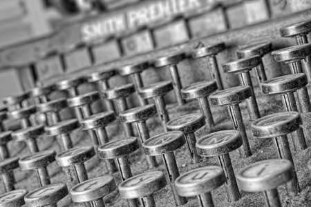 A photo of a very old typewriter Stock Photo - 17328464