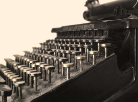 A photo of a very old typewriter Stock Photo - 17326042