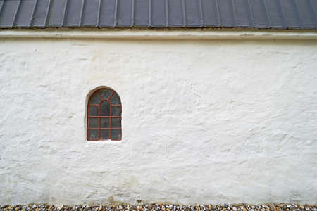 A photo of an old window in an old farmhouse Stock Photo - 17328833