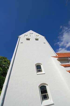 A photo of a Danish church Stock Photo - 17328322