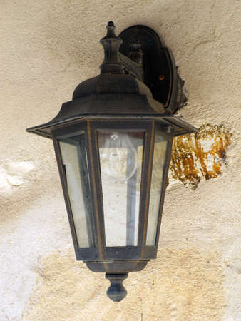 a photo of a lamp