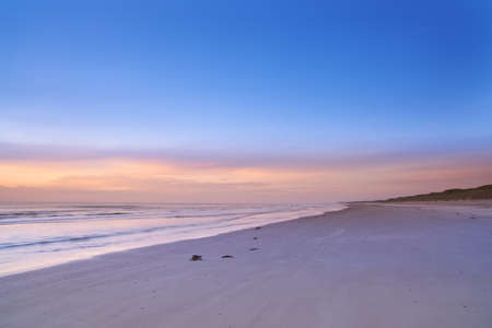 A photo of sunset at the beach - Jutland, Denmark Stock Photo - 17328769