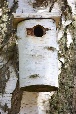 A photo of a bird house photo