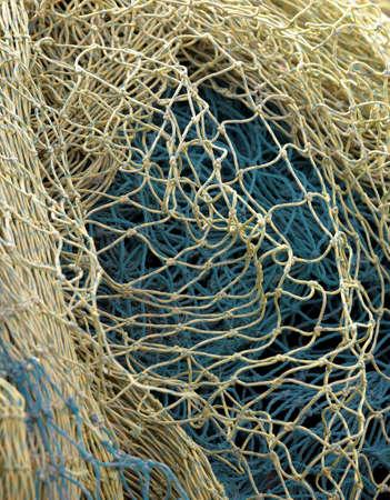 knotting: Photo of fishing net