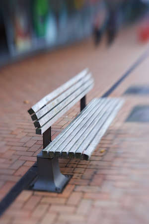 A photo of an outdoor bench photo