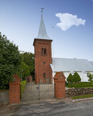 A photo of a Danish church photo