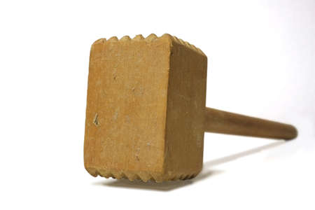 A photo of an old mallet  photo