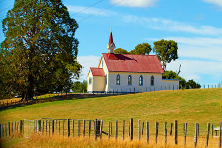 A photo of a Christian Church in New Zealand