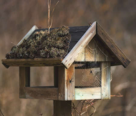 A photo of bird house - feeding place photo