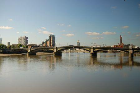 battersea: battersea bridge